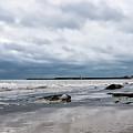 Winter Seascape 2 - Lyme Regis by Susie Peek