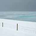 Winter Seascape by Dan Leffel