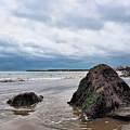 Winter Seascape - Lyme Regis by Susie Peek