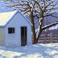 Winter Shed by David King