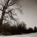 Winter Silo by Colleen Kammerer