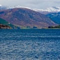 Winter Snow Caps At Loch Broom by Joan-Violet Stretch
