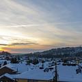 Winter Snow In Happy Valley Oregon by Jit Lim
