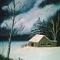 Winter Solitude by Jim Saltis