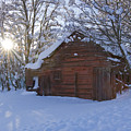 Winter Stable by Idaho Scenic Images Linda Lantzy