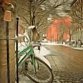 Winter Stockholm  Swiss  by Yury Bashkin