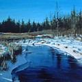 Winter Stream by William Brody