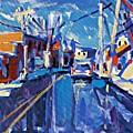 Winter Street by Brian Simons