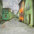 Winter Street by Edelberto Cabrera