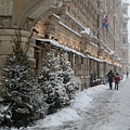 Winter Stroll In Helsinki by Margaret Brooks