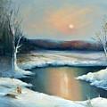 Winter Sun by Sally Seago
