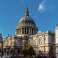 Winter Sun St Paul's Cathedral by Gary Eason