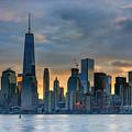 Winter Sunrise New York City by Rick Berk