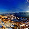 Winter Sunrise On Skaha by James Bauman