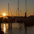 Winter Sunset At Annapolis Harbour by Hideaki Sakurai