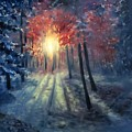 Winter Sunset by Natalja Picugina