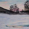 Winter Sunset by Pamela Wilson