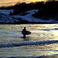 Winter Surfing by Heidi Kummer