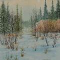 Winter Trail Alberta by E Colin Williams ARCA