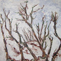 Winter Trees by Helene  Champaloux-Saraswati