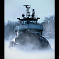 Winter Tug by Tim Nyberg