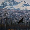 Winter Valley Raven by Stanza Widen
