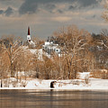 Winter View Of Allenstown by Greg Fortier