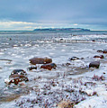 Winter View To The Island by Kim Lessel