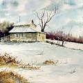 Winter Washday by Sam Sidders