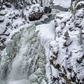 Winter Waterfall by Peg Runyan