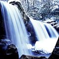 Winter Waterfall by Thomas R Fletcher