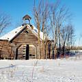 Winter Wisconsin Barn by Kyle Hanson