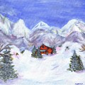 Winter Wonderland - Www.jennifer-d-art.com by Jennifer Skalecke
