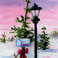 Winter Wonderland Aceo by Brenda Thour