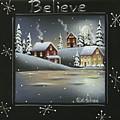 Winter Wonderland - Believe by Catherine Holman