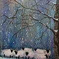 Winter Wool  by Mona Davis