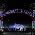 Winterfest Of Lights 2016 by Robert Banach