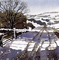 Winters Lane Stainland by Paul Dene Marlor