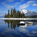 Winters Mirror by Lynn Hopwood