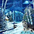 Winters Night 2 by Darlene Green
