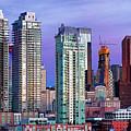 Winter's Sky Over Calgary by David Buhler