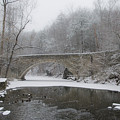 Wintertime In The Wissahickon Valley by Bill Cannon