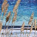 Wintertime On Lake Erie by Shawna Rowe
