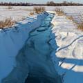 Wintery Creek by Rich Mengel
