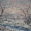 Wintery December by Leonard Holland