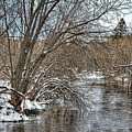 Wintery River by Gary Smith