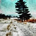 Wintry Altona Road by Leslie Montgomery