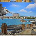 Wip-pelican 08 by Cindy D Chinn