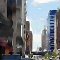 Wisconsin Ave 3 by Anita Burgermeister