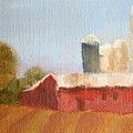 Wisconsin Farmland by Martha Layton Smith